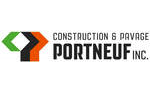 logo construction & pavage portneuf